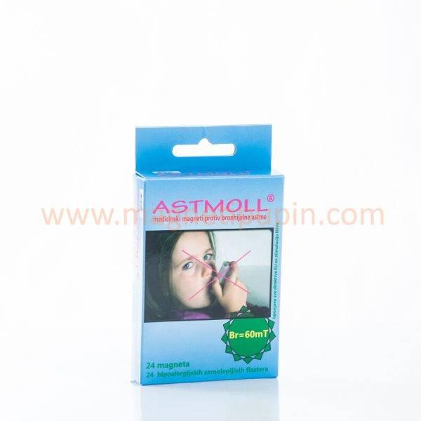 ASTMOLL - medical magnets against bronchial asthma