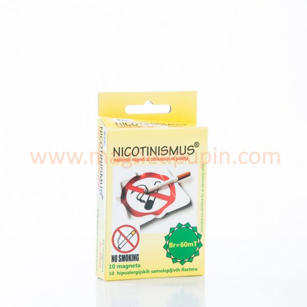 NICOTINISIMUS - medical magnets the help you quit smoking