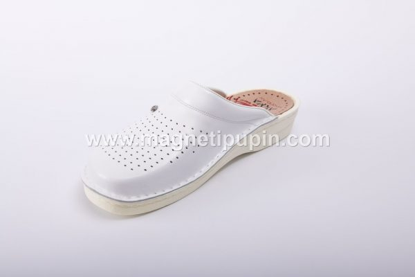 akma papuce - bele boje