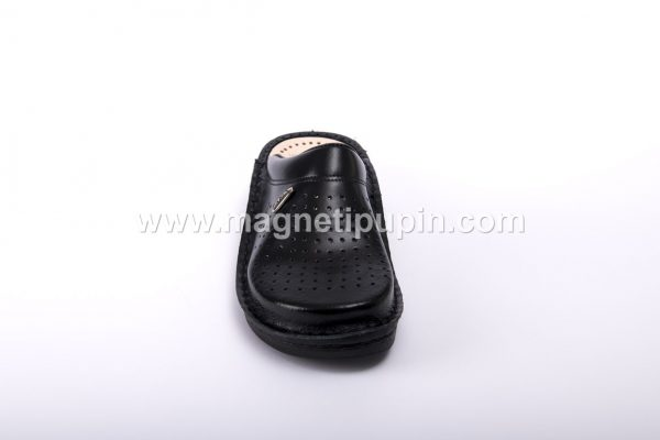 papuce akma - crne zatvorene