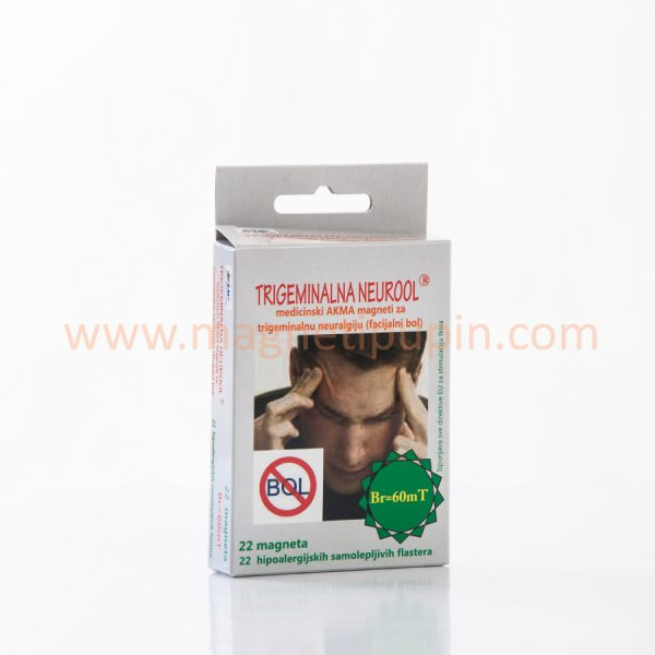 TRIGEMINALNA NEUROOL - medical magnets for treating trigeminal neuralgia (facial pain)