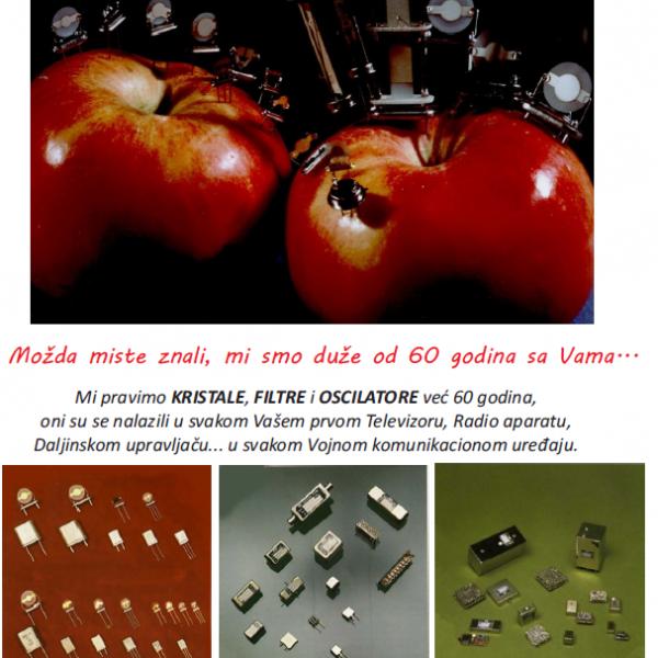Kristalne jedinke - filtri - oscilatori