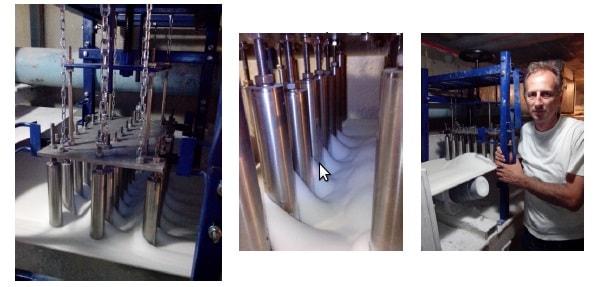 Separatori u Šećerani Pećinci - kapacitet 75 tona-sat-min