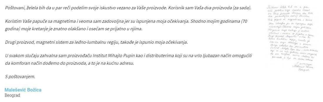 Malešević Božica komentar